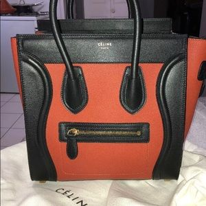 Celine micro multi color